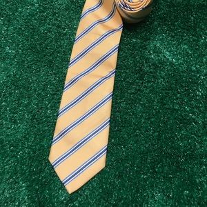Pink Thomas Pink London 100% Silk Woven Tie